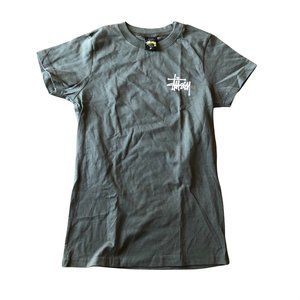 Stussy New Old Stock logo tee Olive Small
